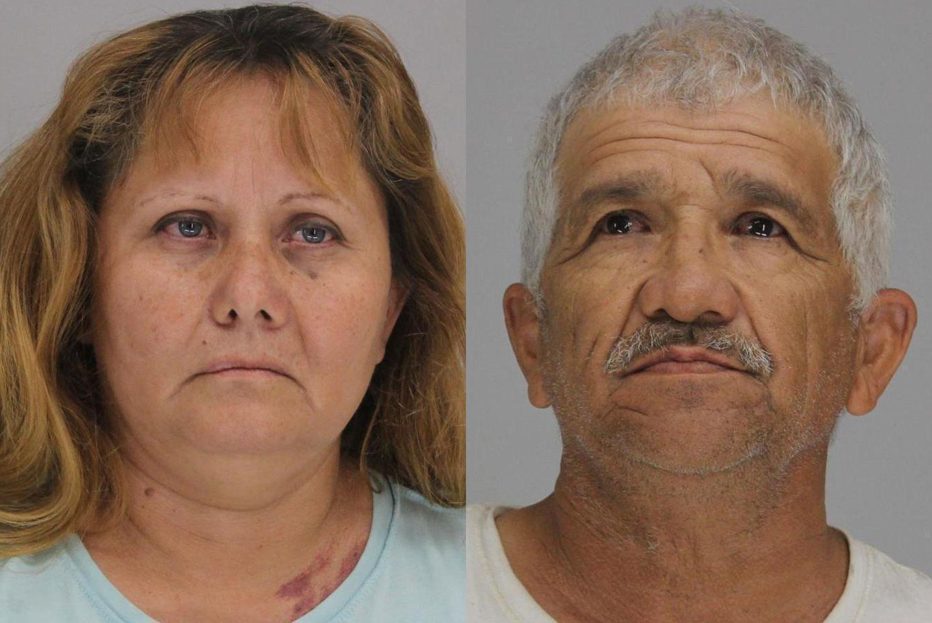 Una pareja de Texas presuntamente encerró a un niño de 6 años en un cobertizo con ratas y le ató las manos con cordones de zapatos