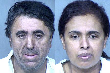 זוג שהואשם ברצח של בת מאומצת שנעדרת זמן רב לאחר שרידיה נמצאו בעקבות שריפת הבית