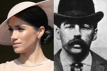 ¿Meghan Markle está relacionada con el asesino en serie H.H. Holmes?