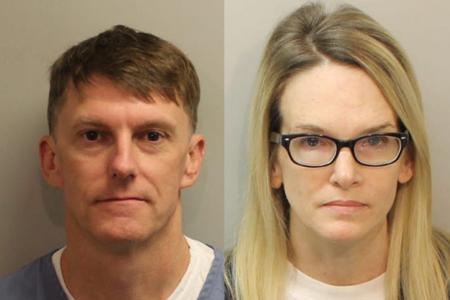 Trekanter, anliggender og raske fotos, der er afsløret i retssagen mod en kvinde, der er anklaget for at planlægge mands mord