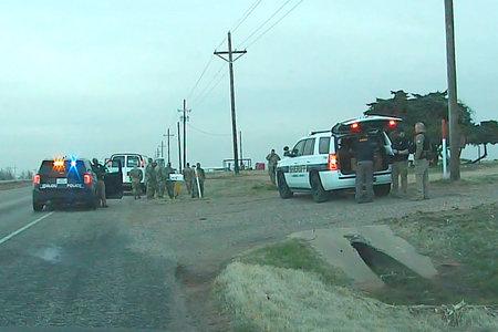 Hombre de Texas presuntamente detenido soldados de la Guardia Nacional transportando vacunas COVID-19 a punta de pistola