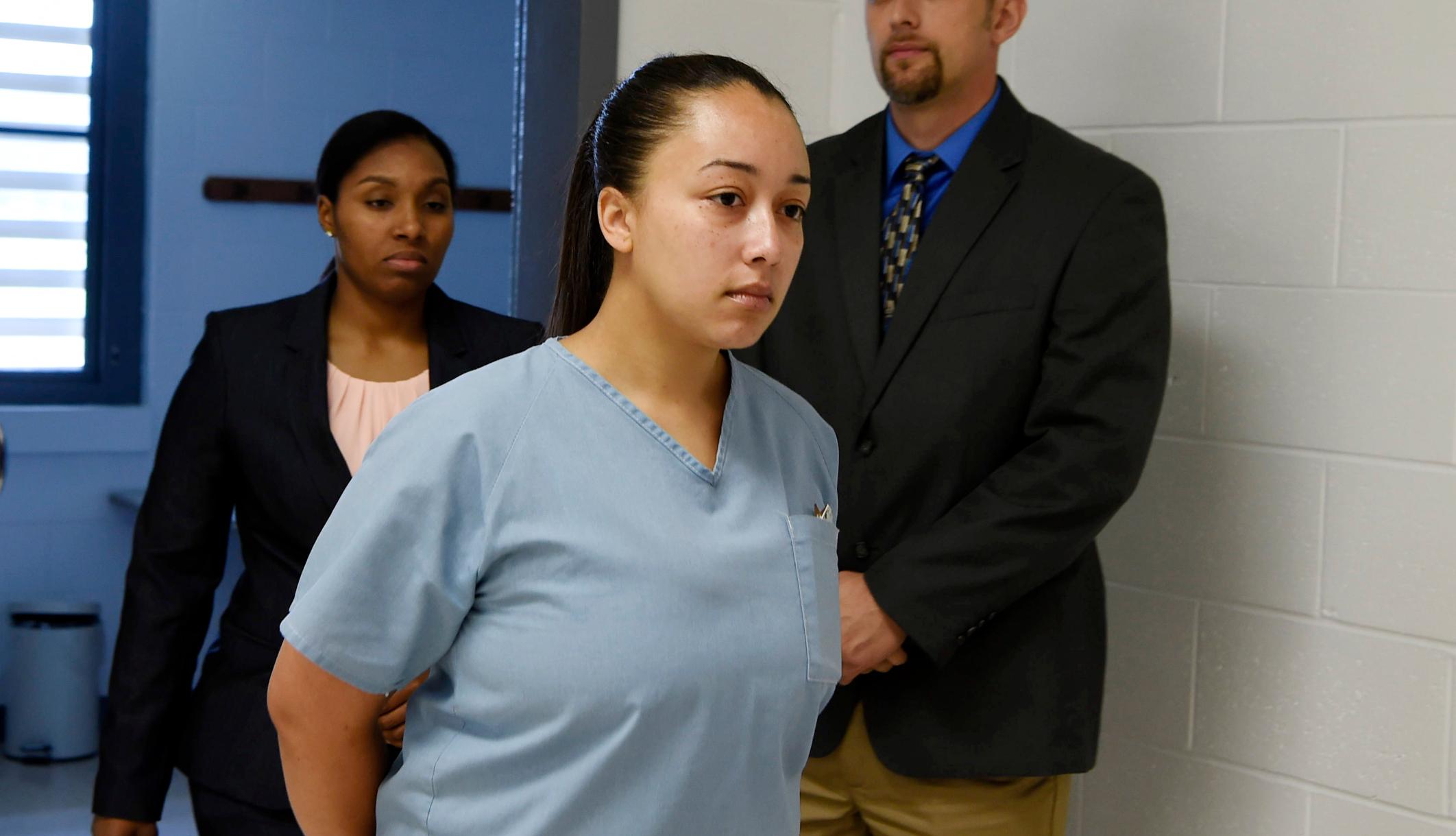 Το θύμα σωματεμπορίας που ελευθερώθηκε πρόσφατα, η Cyntoia Brown παντρεύτηκε τον Christian Rapper