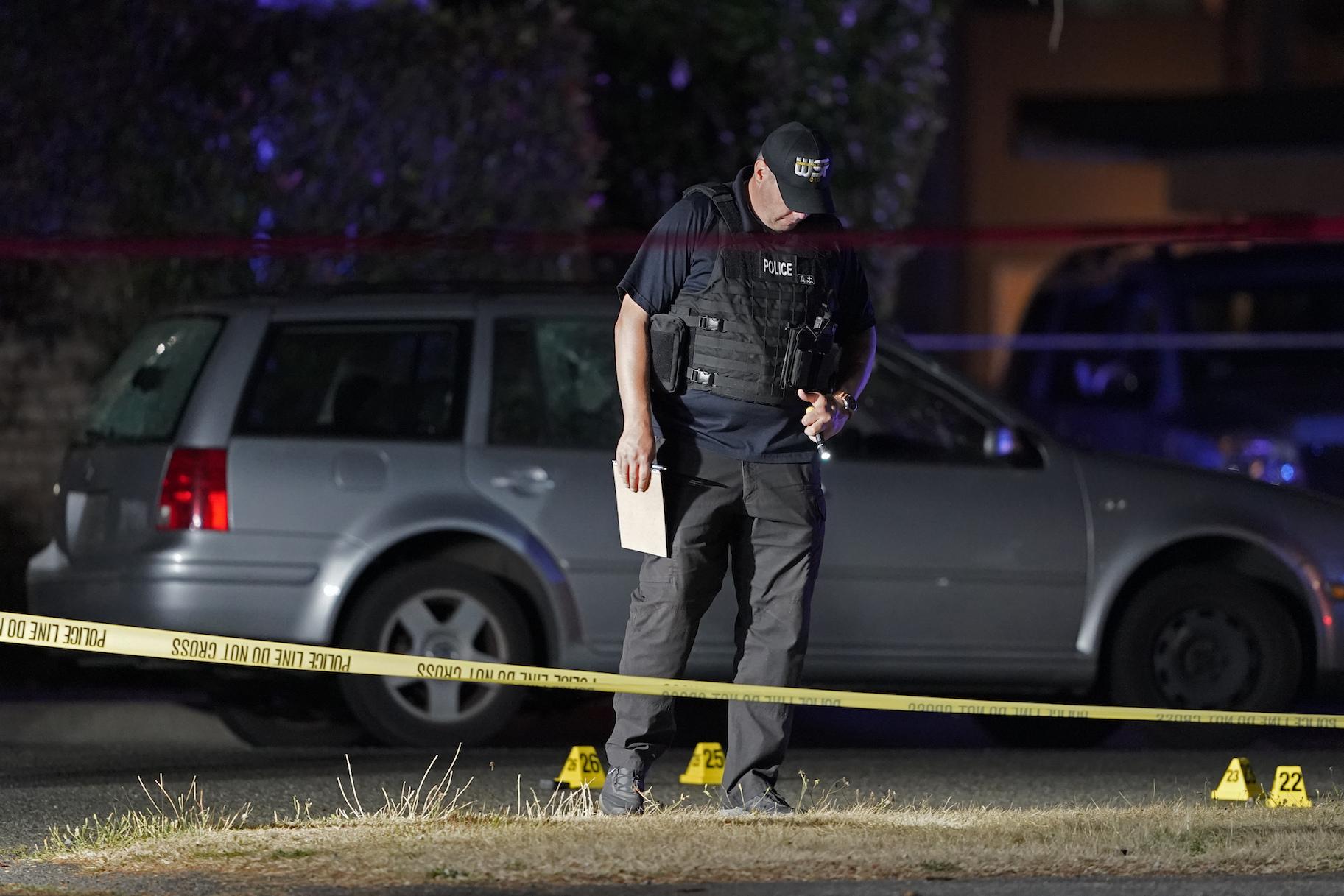 Seorang lelaki disyaki menembak mati penunjuk perasaan di Portland terbunuh kerana Fed cuba menangkap