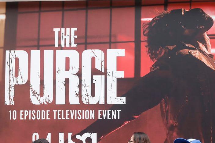 7 Shot en la fiesta de Halloween con temática de 'Purga' de SoCal Nightclub