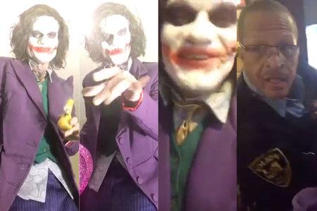 'The Shenanigans Of A Crazy, F-ked Up Dude': Lelaki Berpakaian Sebagai Siaran Langsung Joker Mengenai Opioid, Ditangkap Kerana Ancaman