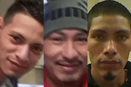 Tres hermanos adultos acusados de violar a una niña de 10 años que intentó esconderse y se encerraron en el baño
