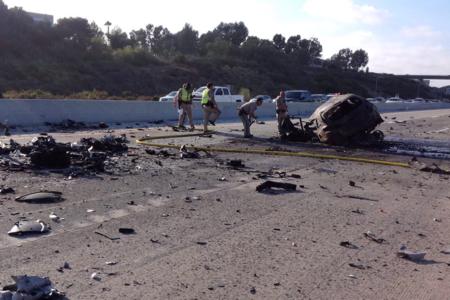 כוכב יוטיוב העשרה 'מק'סקילט' הורג את עצמו, שניים אחרים בהריסות מכוניות ספורט
