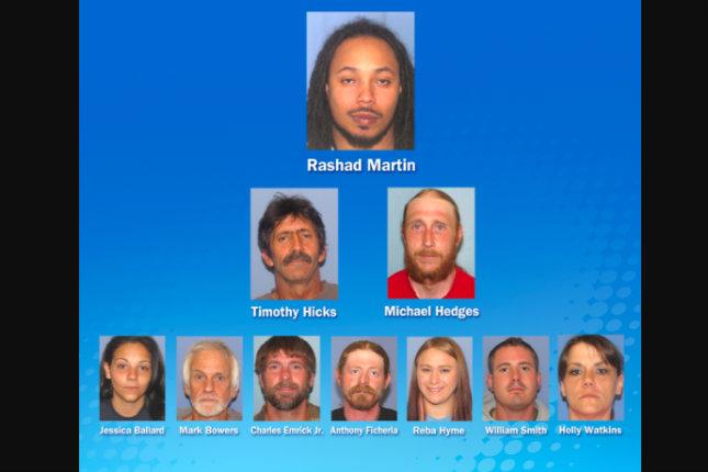 Ченгетата от Охайо избиват пръстена Meth Ring от Haunted Farm, арест десет
