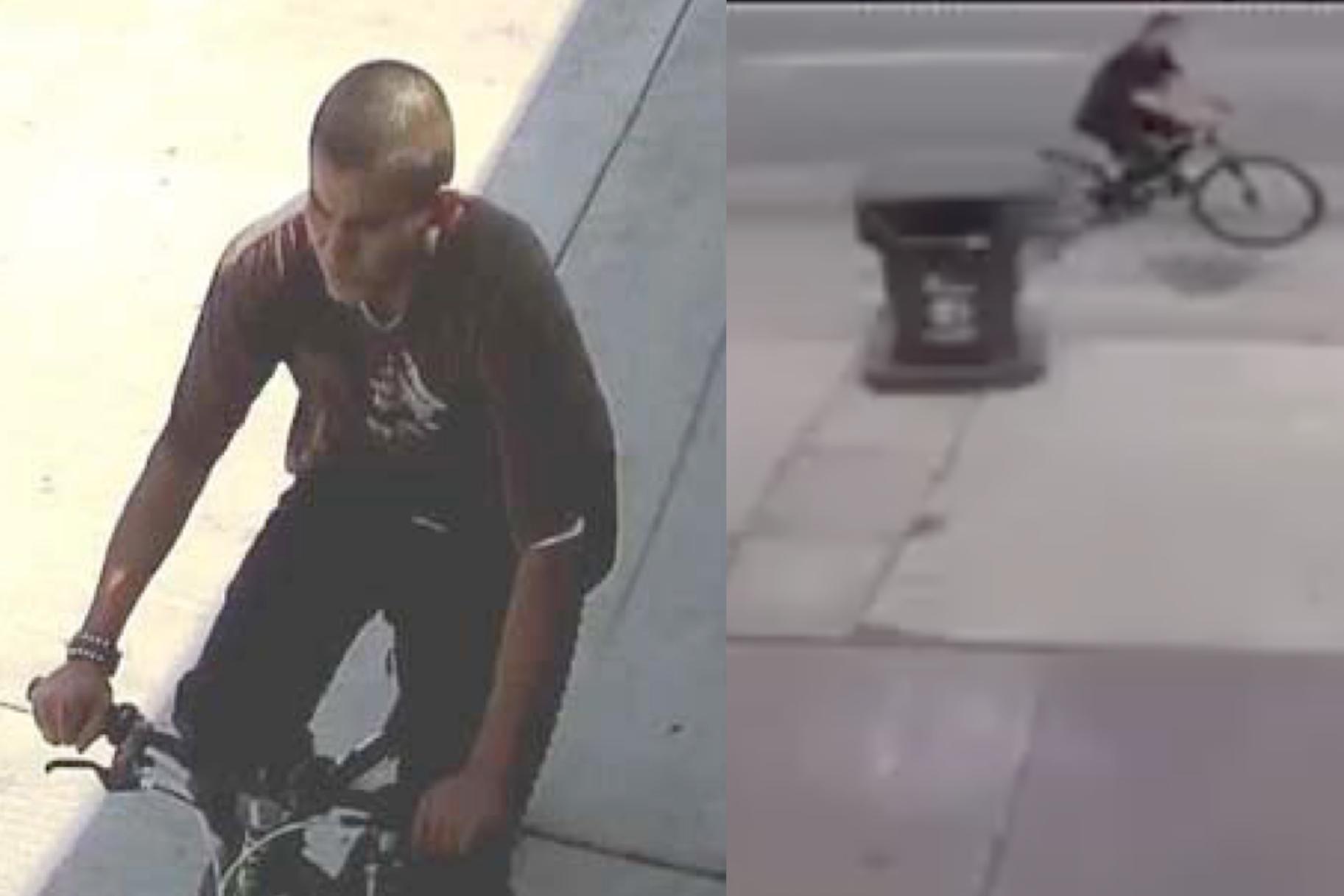 Policija verjame, da je ujela serijskega cepilca, ki je med vožnjo s kolesom v L.A.