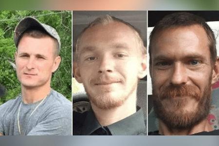En af tre bedste venners 'massakrerede' ved Florida-fiskesøen kaldte far, der bad om hjælp, men det var for sent, siger sheriff