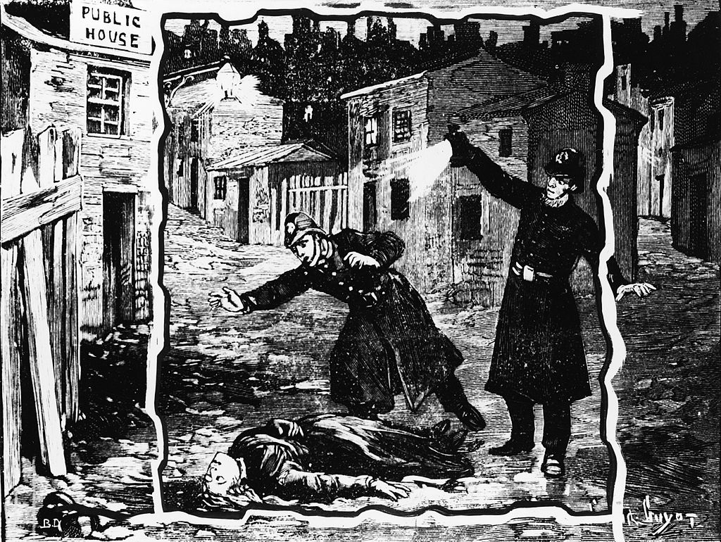 Je obarvan šal razkril identiteto Jacka The Ripperja?