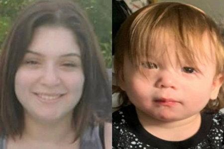 Mor arresteret efter blodplettet krybbeark findes i hendes hjem med sin 1-årige ingensteds at blive set, siger myndighederne