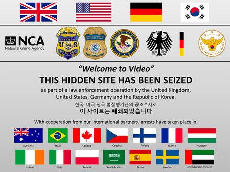 El lloc de pornografia infantil més gran de Darknet va ser arrencat i rescatats a 23 nens que van ser maltractats activament