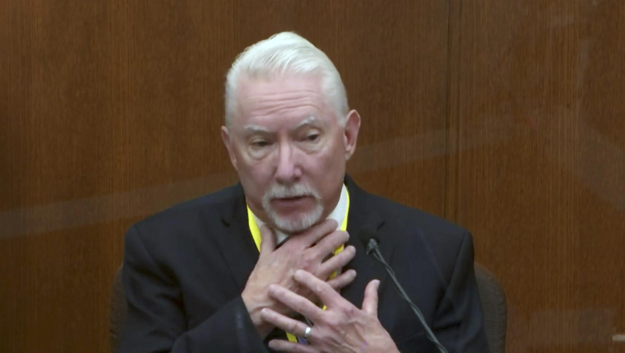 Derek Chauvin tuvo justificación para inmovilizar a George Floyd, un experto testifica en el juicio