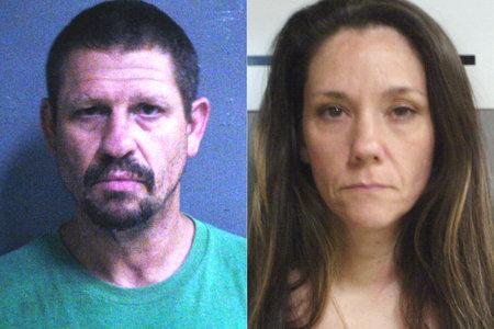 Poročeni par iz Oklahome, obtožen, da si je vbrizgal žensko z metom in posnel smrt