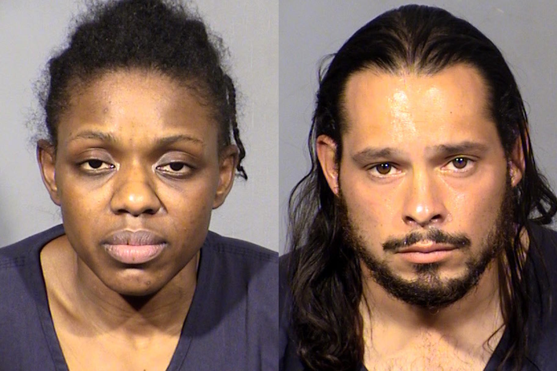 זוג לאס וגאס מואשם ברצח, מואשם כי ביים את מותו של בן ה -8 כמתאבד