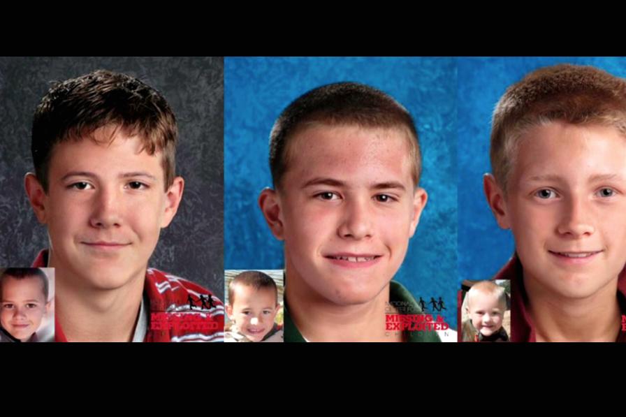 3 niños de Michigan siguen desaparecidos 7 años después de que su padre 'los entregó a un grupo'