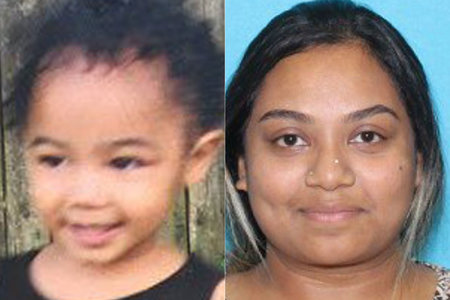 בת שנתיים שנמצאה מתה לאחר שחטיפה לכאורה עדיין הייתה במושב הרכב שלה, יתכן ונפטרה מהתייבשות, אומרים השוטרים