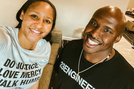 WNBA täht Maya Moore astus mängust eemale, et aidata valesti süüdimõistetud meest vanglast vabastada ja nüüd nad on abielus