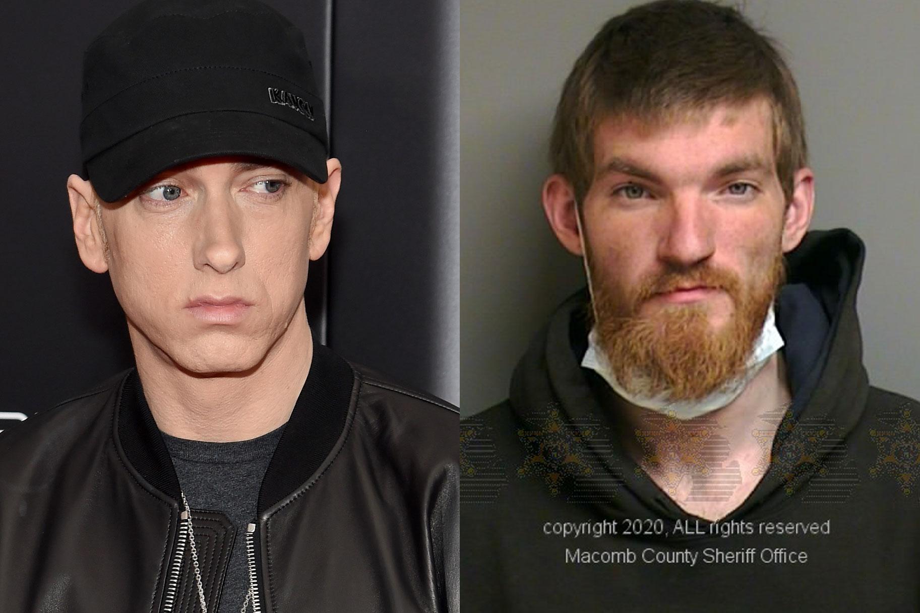 Kodu sissetungija, kes murdis Eminemi majja, ütles, et on seal teda tapmas, väidab politsei