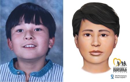 Kaks aastakümmet pärast seda, kui poisi kolju leiti reklaamtahvli alt, ilmub tema isa kohtusse, et silmitsi seista mõrvasüüdistusega