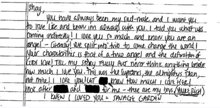 Ο Aaron Hernandez είπε στον Fiancée Shayanna Jenkins να «Πείτε πλήρως την ιστορία μου» στη σημείωση αυτοκτονίας
