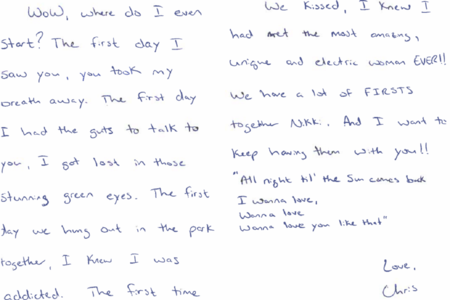 'You Heat Me Up:' Chris Watts Filled Letters To Mistress With Sappy Song Lyrics
