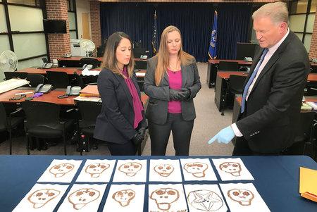 El FBI publica imágenes de dibujos de calaveras de Israel Keyes con la esperanza de identificar más posibles víctimas