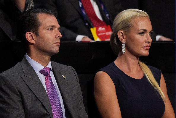 Audrey O'Day suočena je s spletkama djevojke nakon navodne veze s Donaldom Trumpom mlađim