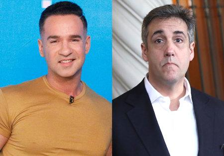 Mike 'The Situation' Sorrentino afirma que trató de reclutar al ex abogado de Trump, Michael Cohen, para que le pasara pollo de contrabando en la cárcel