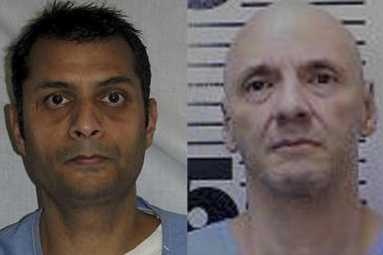שני רוצחי תמותת מוות מצאו שעות מתות באותו הכלא בקליפורניה