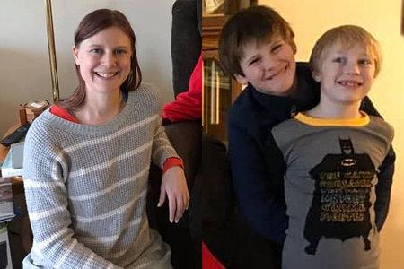 Mama iz Minnesote objavlja nasmejane fotografije za zahvalni dan pred domnevnim samomorom trojnega umora