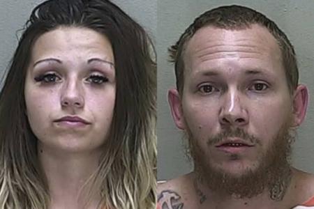 Florida-par vender trailer hjem til heroin-gennemgang, komplet med skilte, siger politiet