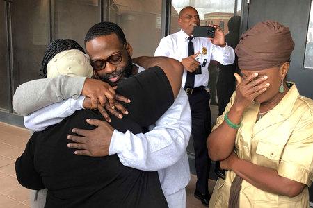 'Olen olnud ülestõusnud:' Kim Kardashian West kutsus kinnipeetava vabastama DC vanglast