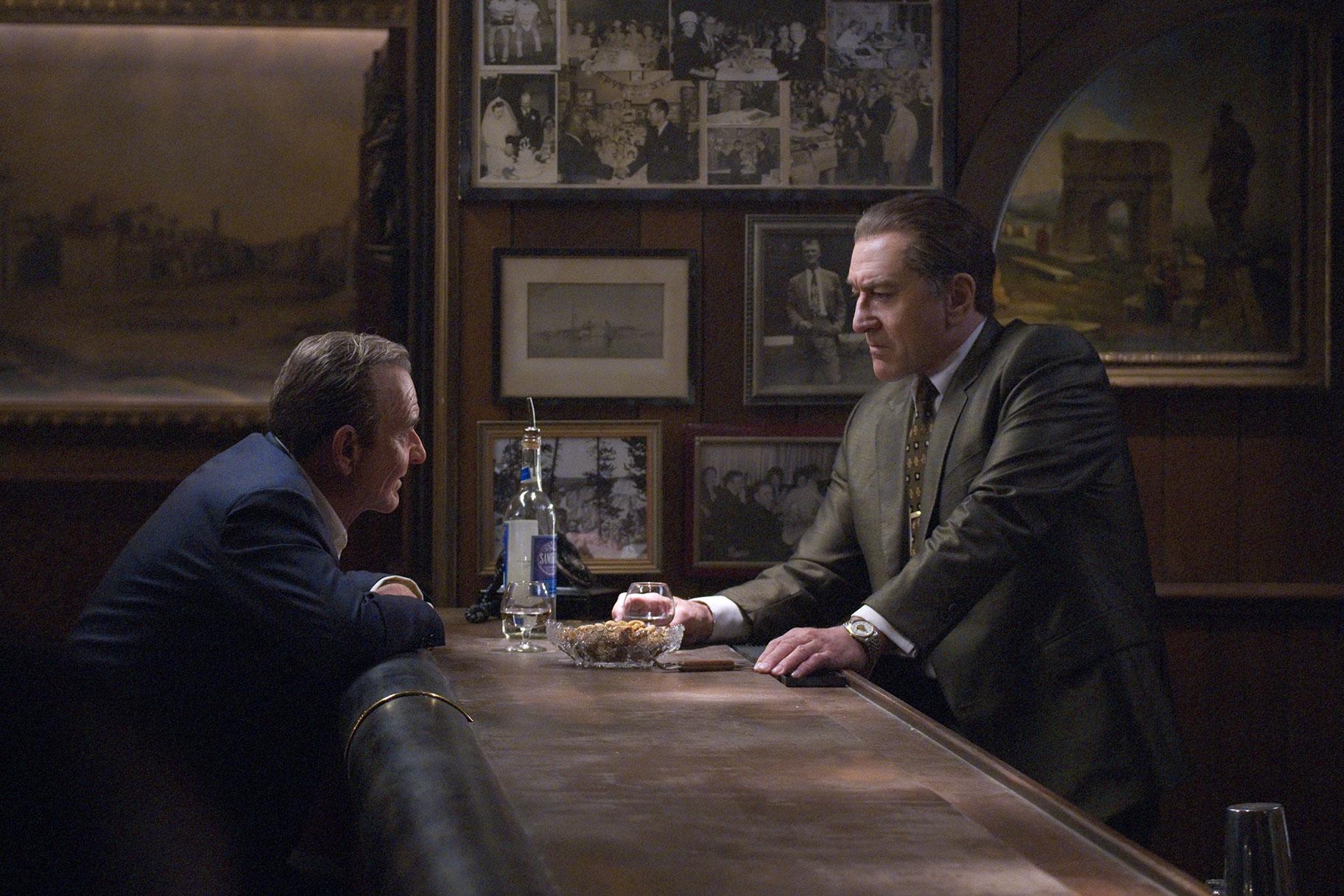 Vea a Robert De Niro, envejecido digitalmente, en el primer tráiler de 'The Irishman', la película biográfica de gángsters de Martin Scorsese