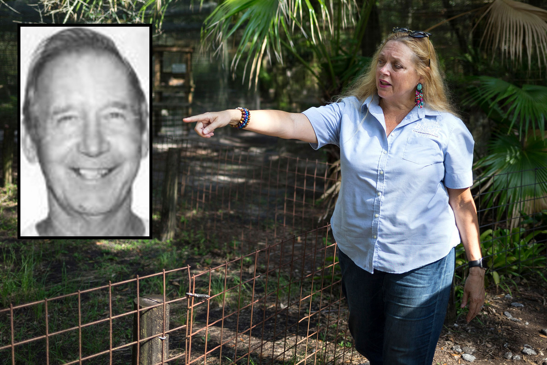 Šerif poriče zataškavanje nestanka zvijezde 'Kralja tigra' nestalog supruga Carole Baskin