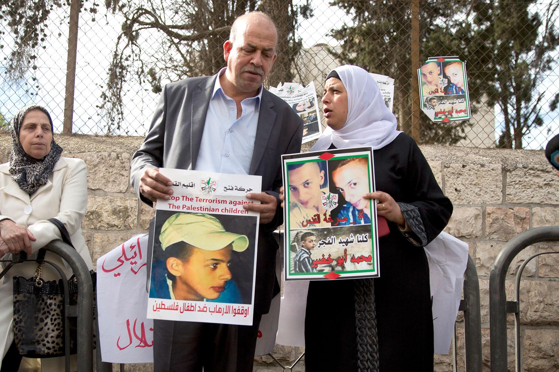 מה אמרה משפחתו של מוחמד אבו חדיר על אופן הטיפול בתיק הרצח שלו?