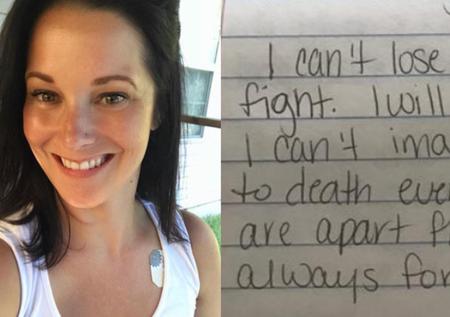 «Δεν θα σε χάσω χωρίς μάχη»: Τα προσχέδια επιστολών αποκαλύπτουν την καρδιά και την επίλυση της Shanann Watts