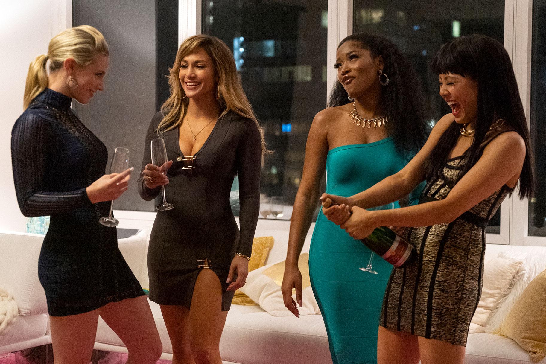 J.Lo ja Cardi B Pole Dance ning kelmikad rikkad poisid filmis 'Hustlers', mis põhineb tõelool