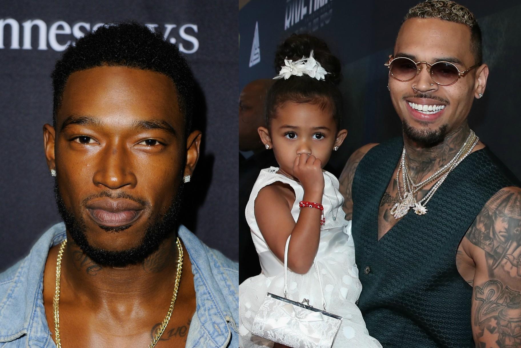 Fans indignados después de que Kevin McCall aparentemente amenazara a Chris Brown y a su hija Royalty