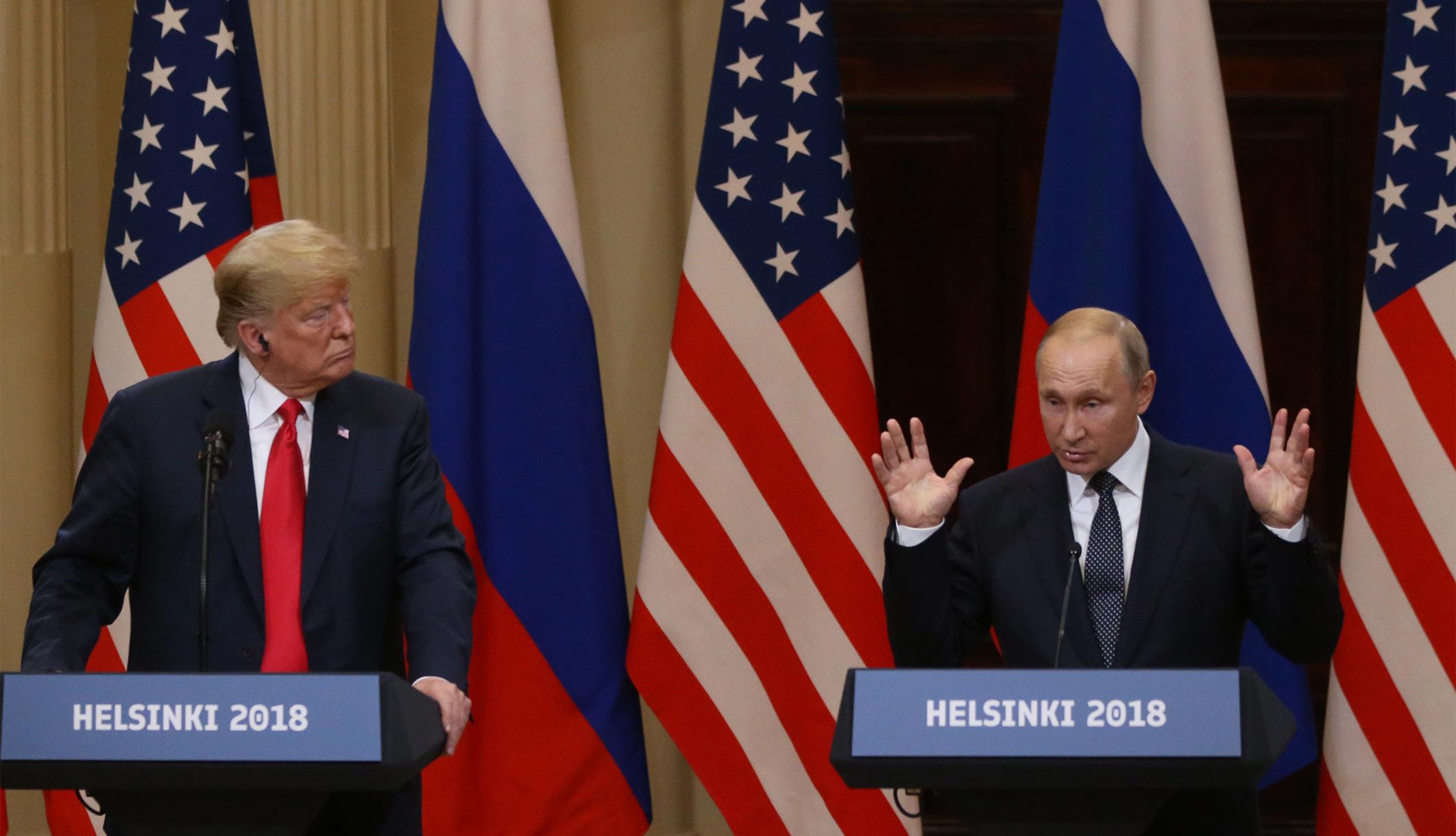 Είναι ο Ομοφοβικός βίντεο του Trump-Putin του New York Times; Μερικοί άνθρωποι το σκέφτονται