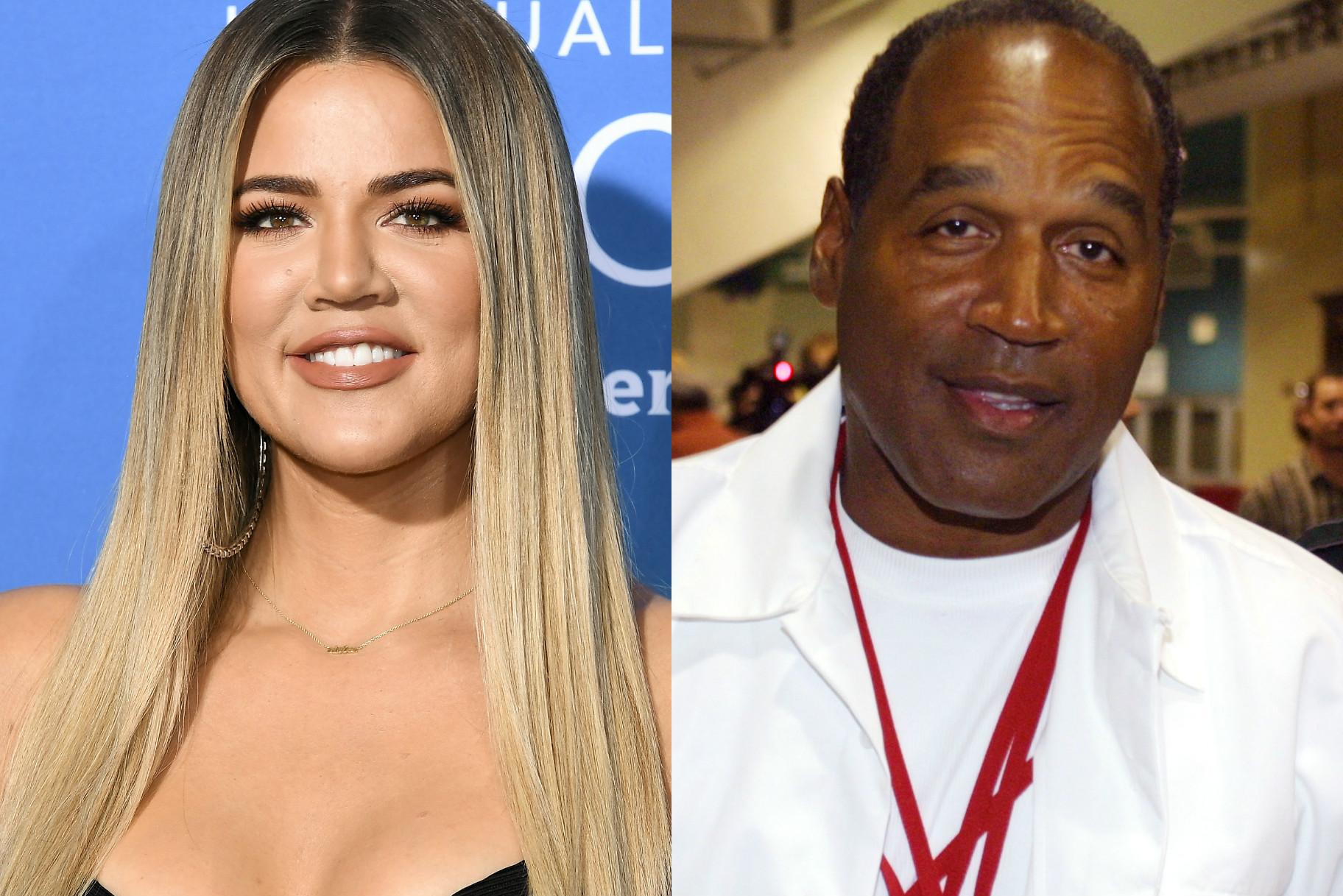 O.J. Simpson niega ser el padre biológico de Khloe Kardashian a pesar de que muchos ven un parecido asombroso