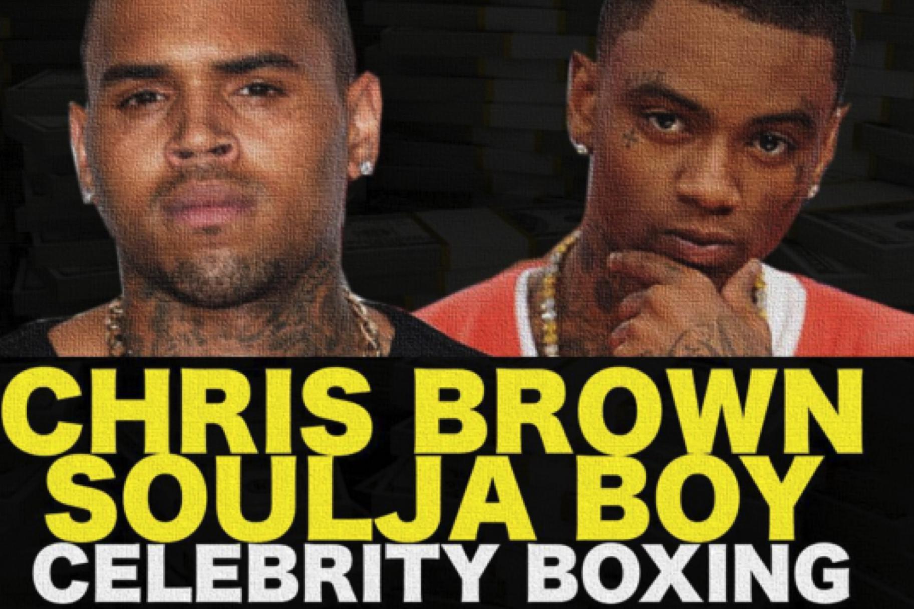 Soulja Boy y Chris Brown pelearán en Pay-Per-View gracias a Floyd Mayweather