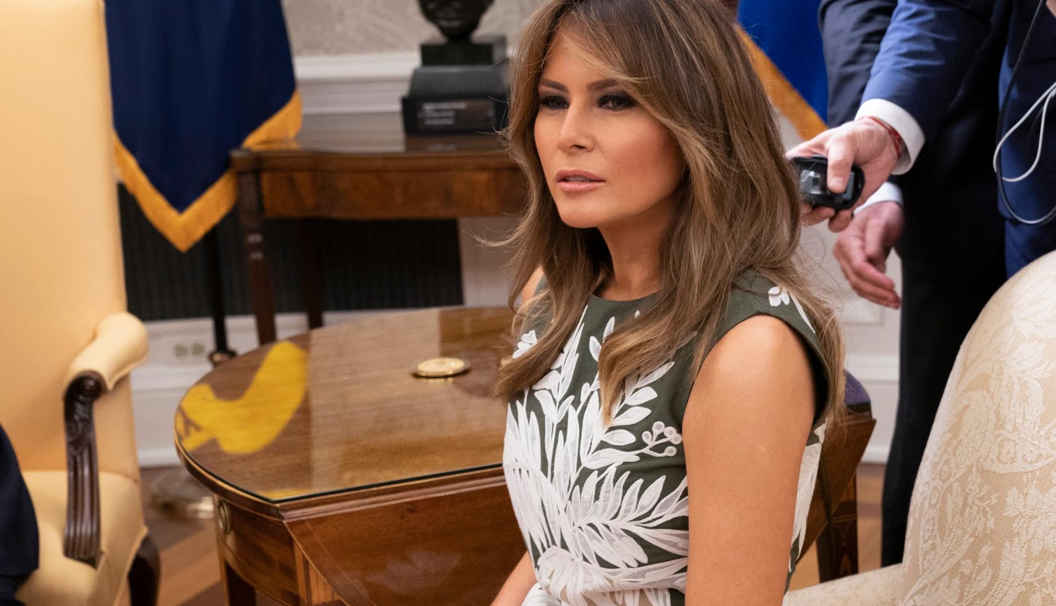 Melania Trump alerta al servicio secreto después de que Peter Fonda publicara un tweet inquietante sobre Barron