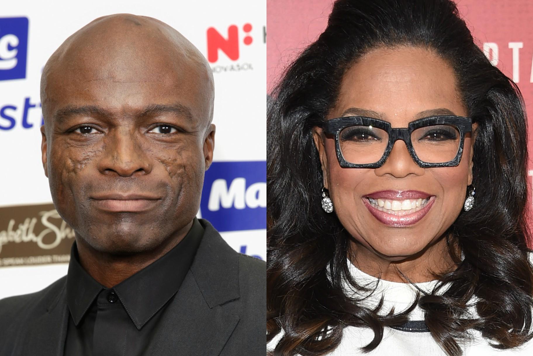 Seal atacó a Oprah en Instagram y ahora está siendo criticado en Twitter por eso
